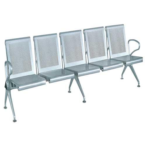 [Ghế Băng Phòng Chờ Bằng Inox Nhựa Hòa Phát] GPC03-5 Giá Rẻ TpHCM (BH 1 Năm)