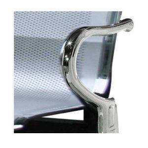 [Ghế Băng Phòng Chờ Bằng Inox Nhựa Hòa Phát] GPC02-4 Giá Rẻ TpHCM (BH 1 Năm)