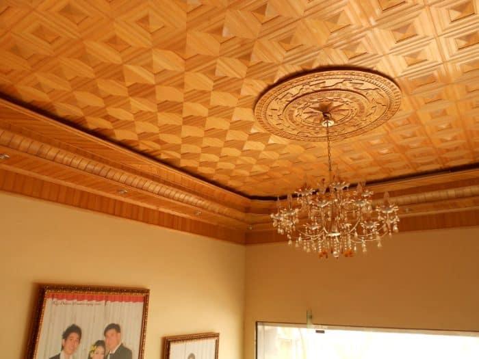 Thiết kế nhà trần gỗ đẹp