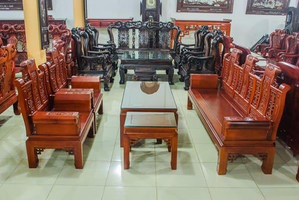 [Mẫu bàn ghế gỗ phòng khách hiện đại] TOP mẫu bàn ghế phòng khách HOT nhất hiện nay