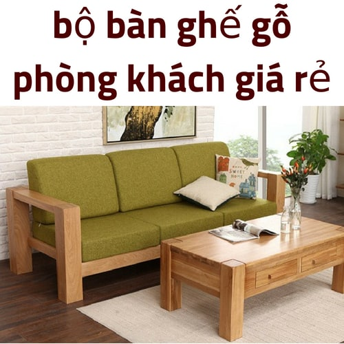 Bộ bàn ghế sofa đen cao cấp