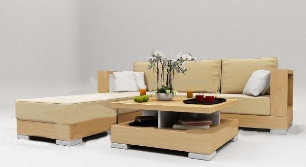 Bộ bàn ghế sofa văn phòng da
