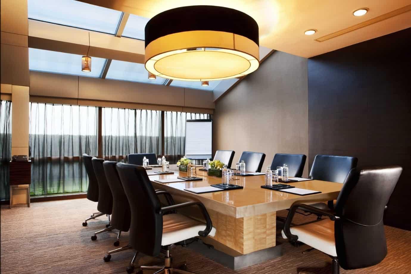 7 Nguyên tắc bố trí phòng họp bạn nên tham khảo