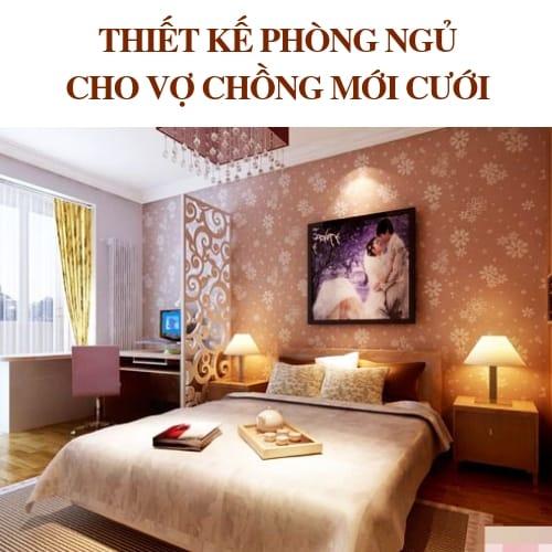 Cách Trang Trí Phòng Ngủ Cho Vợ Chồng Mới Cưới