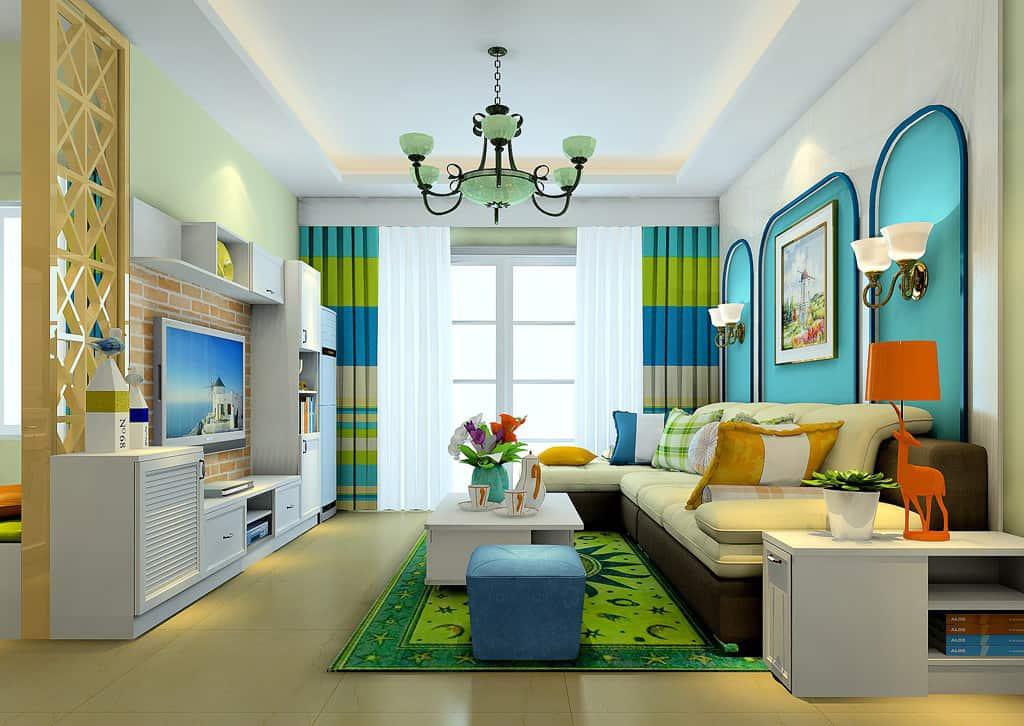 Thiết kế Nội Thất Phòng Khách Theo Phong Cách Tân Cổ Điển 2018