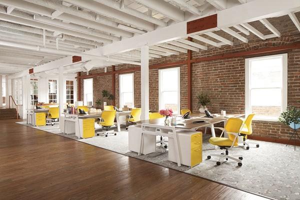 Cách thiết kế nội thất văn phòng với đầy đủ chức năng