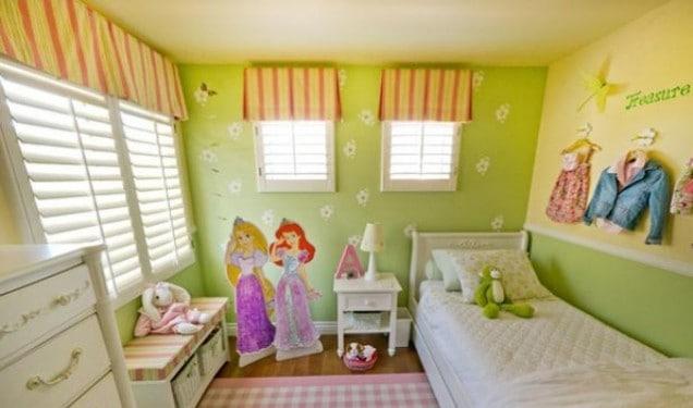Cách Trang Trí Phòng Ngủ Cho Bé Gái Đơn Giản Và Cực Dễ Thương