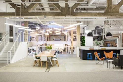 Mẫu 13 Thiết kế nội thất văn phòng hiện đại Hòa Phát