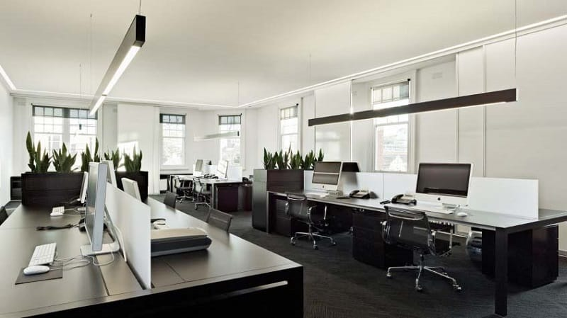 Mẫu 12 Thiết kế nội thất văn phòng hiện đại Hòa Phát