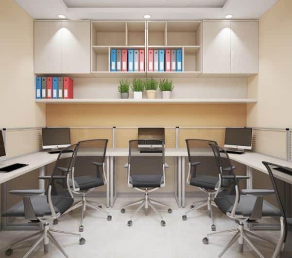 Mẫu 17 Thiết kế nội thất văn phòng hiện đại Hòa Phát