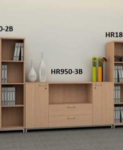 Tủ tài liệu Royal - Bộ tủ ghép HR1800-2B + HR950-3B