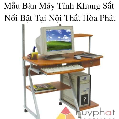 6 Mẫu bàn máy tính nổi bật nhất tại nội thất văn phòng Hòa Phát
