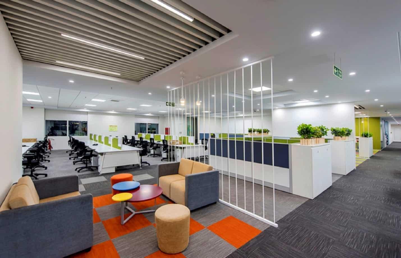 Mẫu 11 Thiết kế nội thất văn phòng hiện đại Hòa Phát