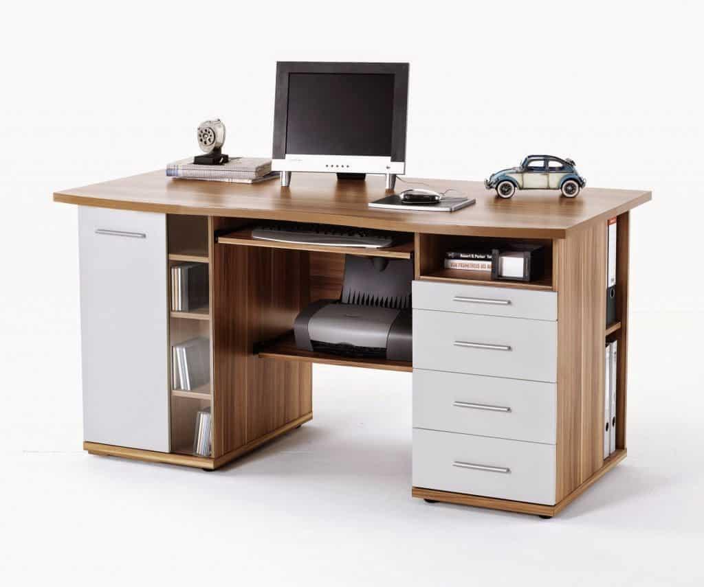 bàn máy tính gỗ