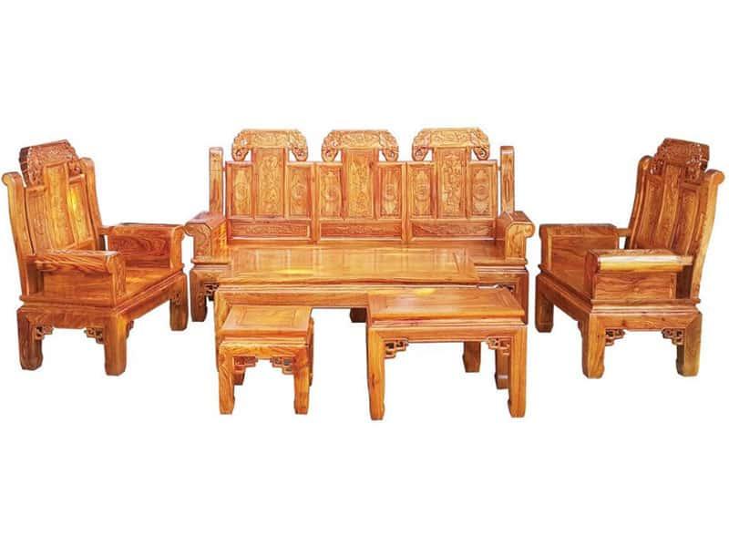Kinh nghiệm chọn mua mẫu bàn ghế phòng khách nhỏ