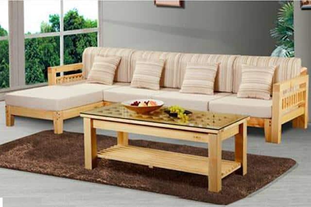 Chọn bàn ghế phòng khách có kích thước phù hợp với không gian bày trí