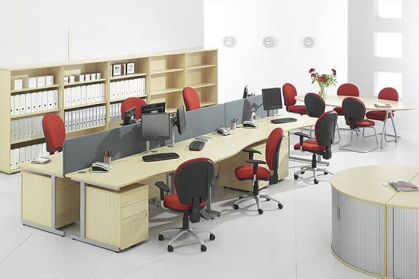 10 mẫu màn ghế sofa văn phòng theo giá
