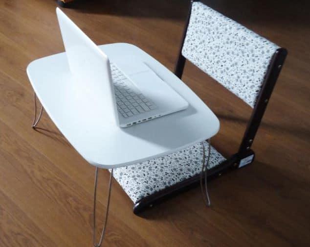 Ưu điểm của ghế ngồi bệt tựa lưng của nội thất hòa phát