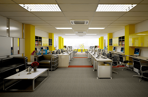 Mẫu 3 Thiết kế nội thất văn phòng hiện đại