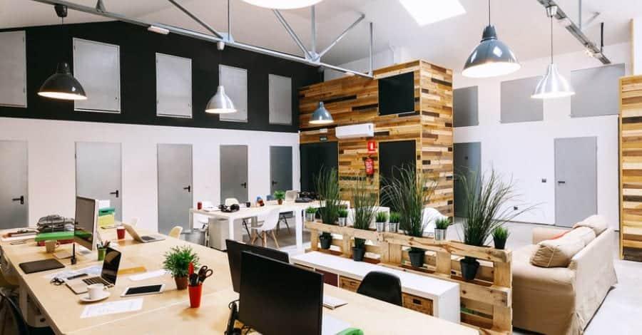 Mẫu 4 Thiết kế nội thất văn phòng hiện đại Hòa Phát