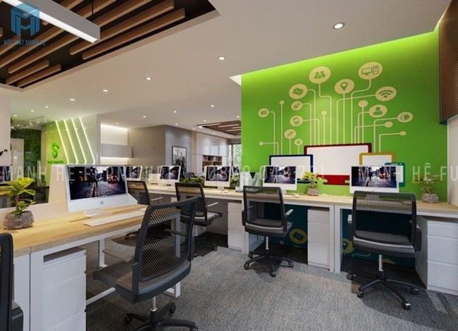 Mẫu 8 Thiết kế nội thất văn phòng hiện đại Hòa Phát
