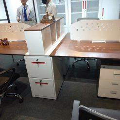 Modul làm việc 4 chỗ ngồi LUXMD01YC10